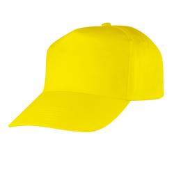 Czapka z daszkiem żółta...
