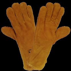 Rękawice spawalnicze ze...